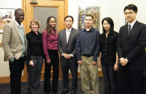 David Chiu and Interns